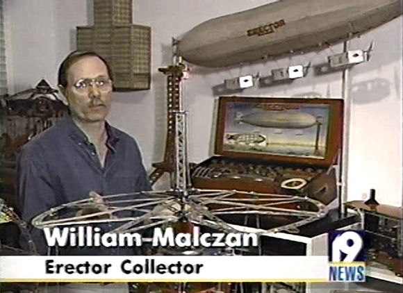 TV interview of ACGHS collector and model builder Bill Malczan